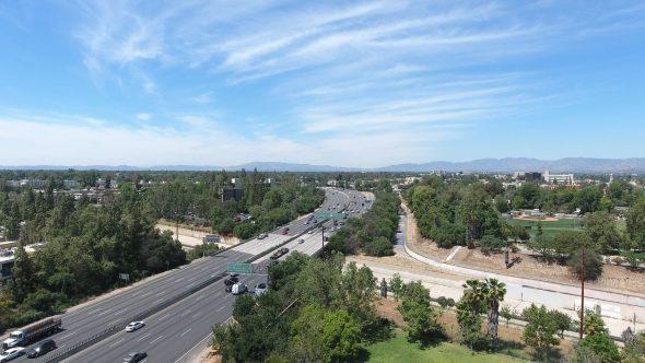 Aerial Drone Footage of Studio City, San Fernando Valley, CA