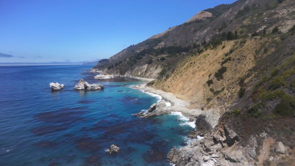 Carmel by The Sea – Rocky Cliffs and Cypress Trees