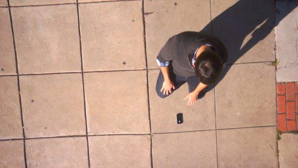 Broken Phone Royalty Free Stock Drone Video Footage