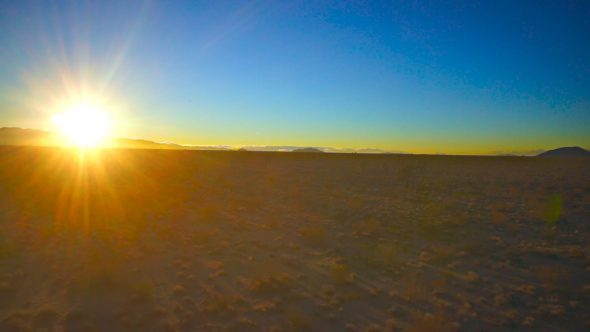 Desert Glide Royalty Free Stock Drone Video Footage