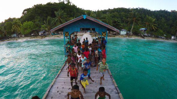 Papua Village Kids Dock 4