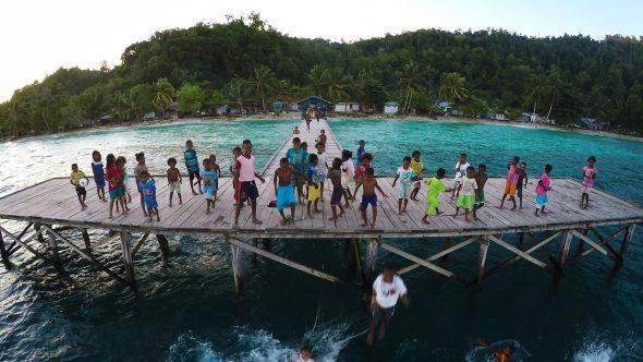 Papua Village Kids Dock 5
