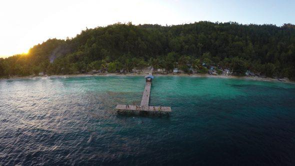 Papua Village Kids Dock 7