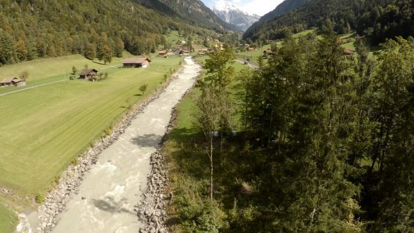Swiss Creek Fly Over