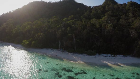 Raja Ampat Islands 12 Royalty Free Stock Drone Video Footage