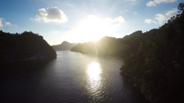 Raja Ampat Islands 13 Royalty Free Stock Drone Video Footage