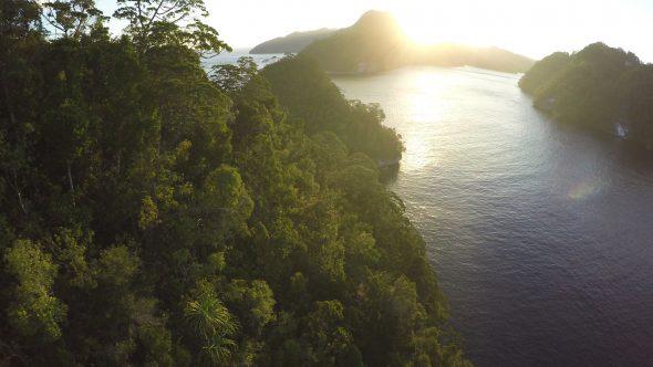 Raja Ampat Islands 19 Royalty Free Stock Drone Video Footage