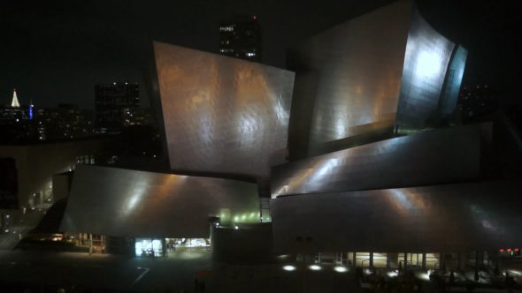 Disney Concert Hall Rise