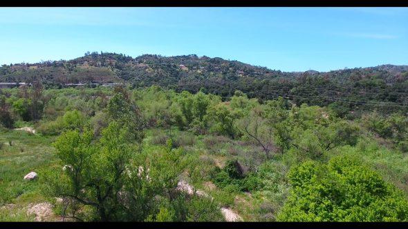 Arroyo Pasadena 1 Royalty Free Stock Drone Video Footage