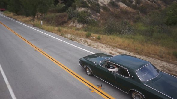 Car Driving Follow