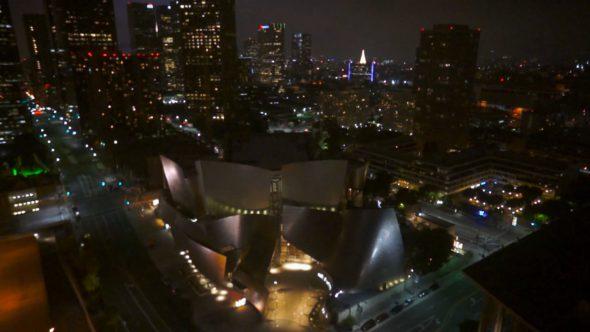 Disney Concert Hall Flyover