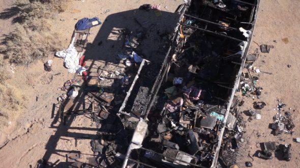 Burned Down Slab City Trailer Home 2