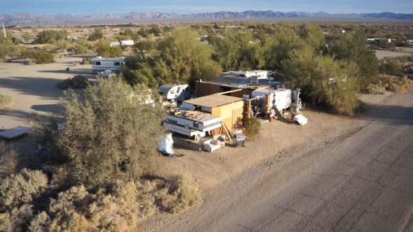 Slab City Roadside Home 2