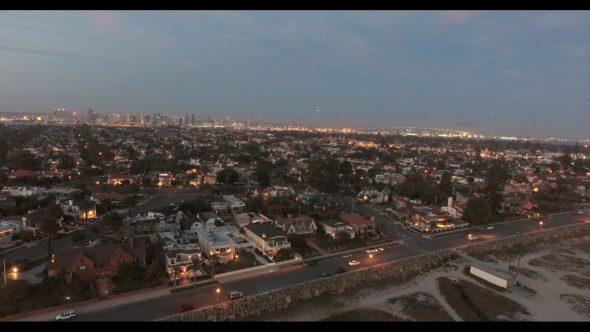Coronado California Beach 9 Royalty Free Stock Drone Video Footage