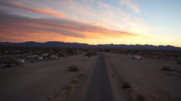 Slab City Sunset Road