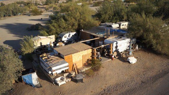 Slab City Trailer Home 2