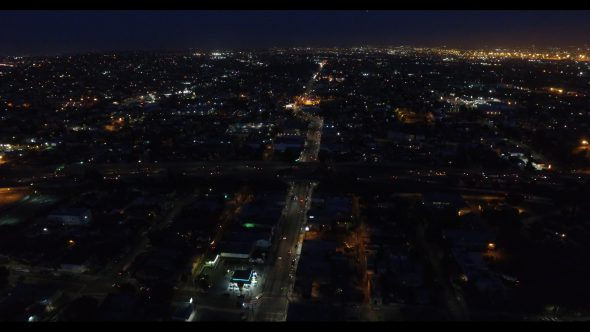 L.A. Night Roads and Intersections 8