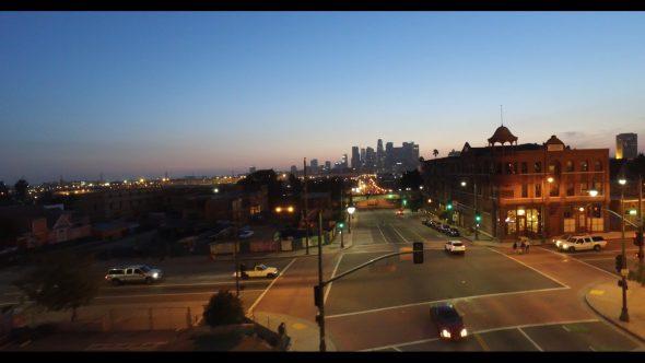 Downtown L.A. City Skyline