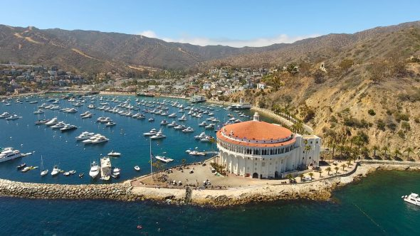 Yachts and the Sta. Catalina Island Casino 5