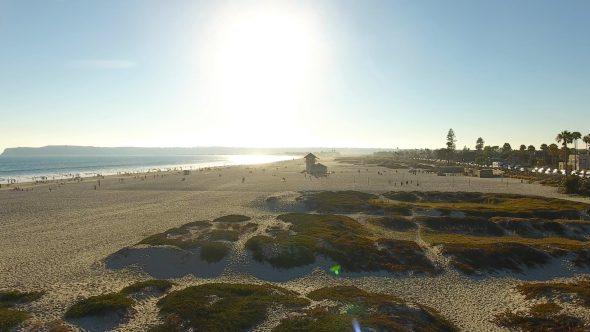 Coronado Sand Dunes and Lifeguard Tower 2