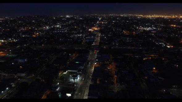 L.A. City Night Lights and Roads 6