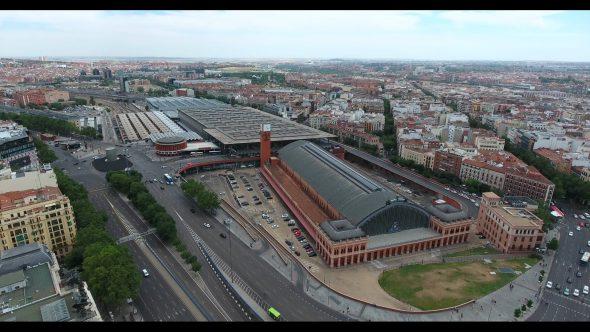 Madrid Spain Atocha Railway Terminal 3