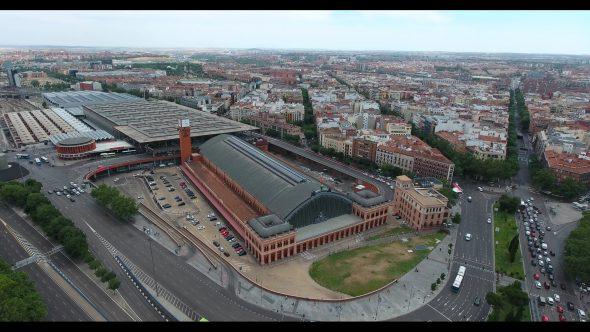 Madrid Spain Atocha Railway Terminal 1