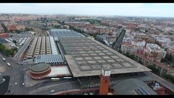 Madrid Spain Atocha Railway Terminal 2