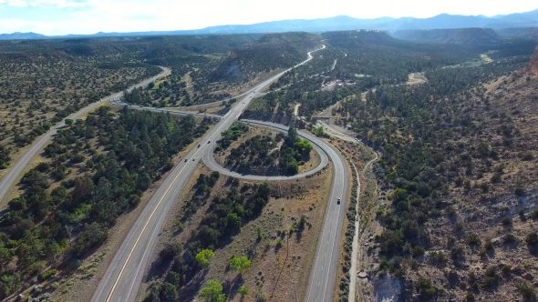 New Mexico Canyon Highway Interchange 2
