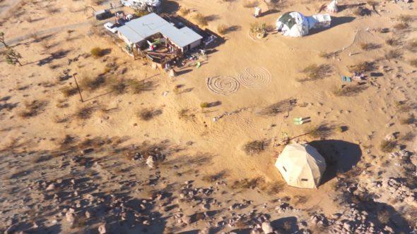 Desert Camp Flyby