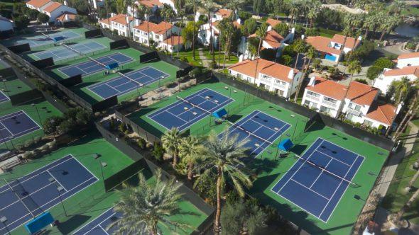 La Quinta Tennis Club Flyover