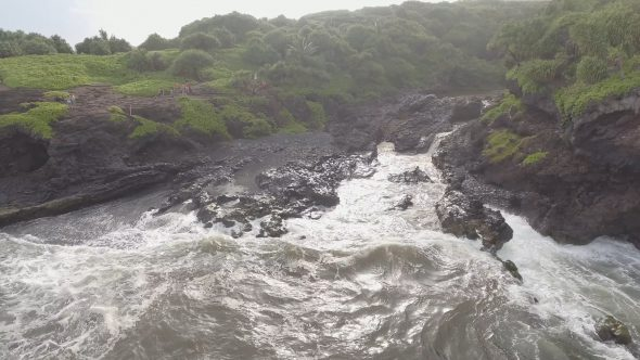 Maui Forest Beach and River Delta 2
