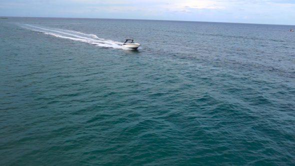 Boat Flyover