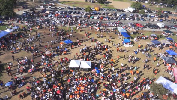 Music Festival Flyover