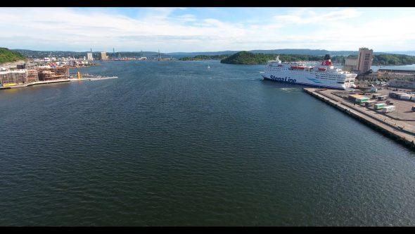 Across the Oslo, Norway Bay