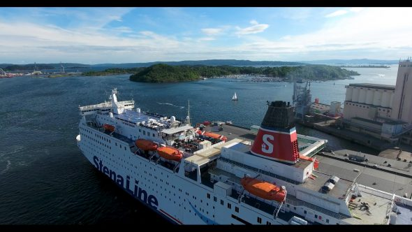 The Ship, The Harbor and The Islands of Oslo, Norway