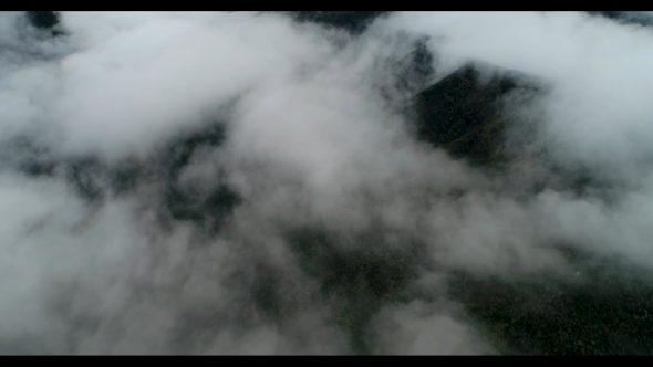 Reverse Flight over the Sea of Clouds of Murrieta